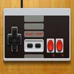 console emulator openemu with original Nintendo NES gaming pad virtualized