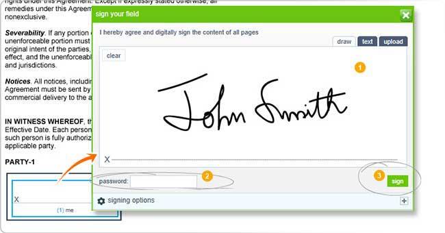 create electronic signature | Crohn