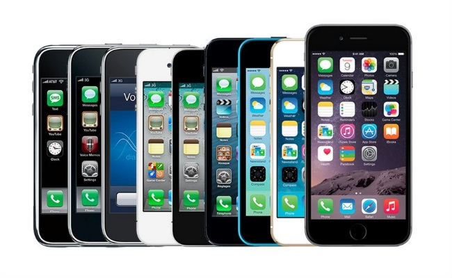 iphone history