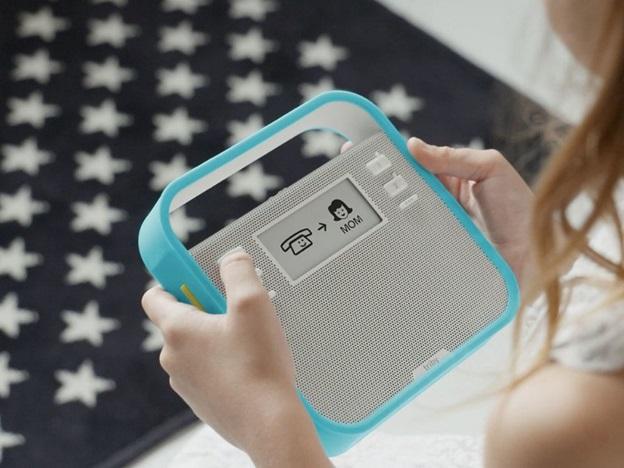 triby connected portable smart speaker grey rundown