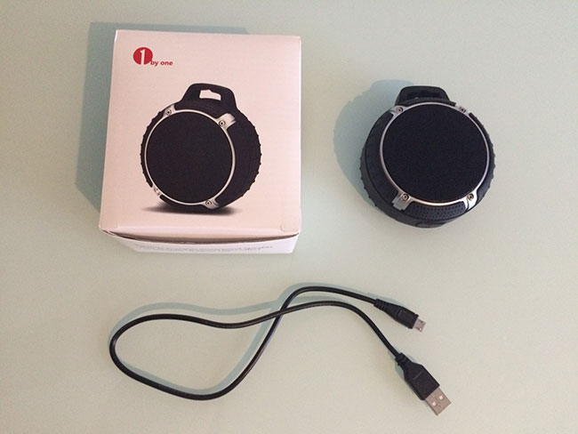 Portable BT 4.0 speaker gadget review