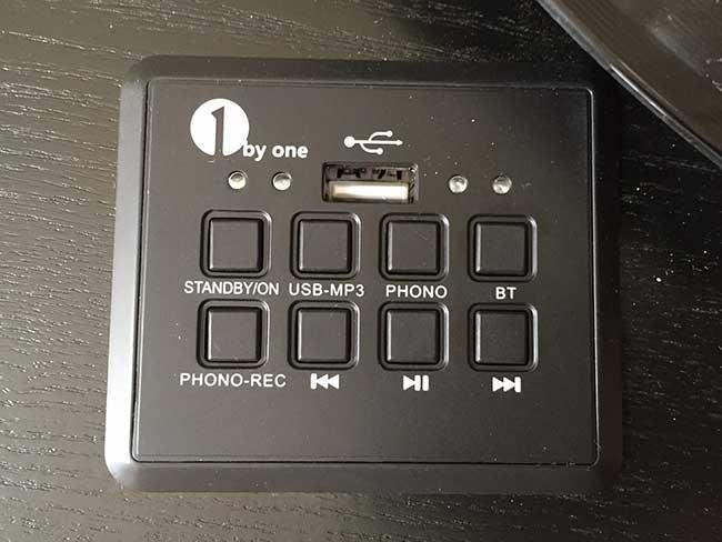 belt-driven turntable controls